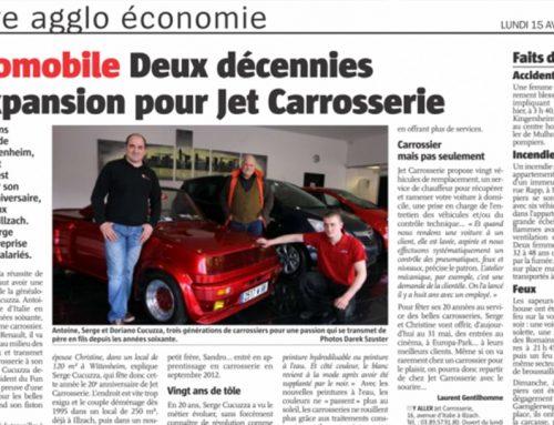 Article de journal «Notre agglo économie»